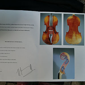 Viola Derazey-Schule mit Etikett Jean-Baptiste Vuillaume 3