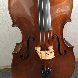 Kontrabass in Violinenform 2