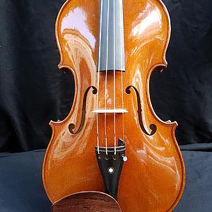 Violine mit Zettel Paolo Giacomelli 3