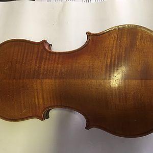 Violine mit Zettel 2