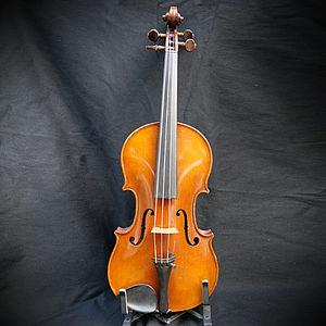 französische Violine Brandstempel REMY 2