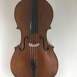 """Cello mit Brandstempel """"Boulier"""" 1"""