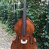 Kontrabass in Violinenform 1